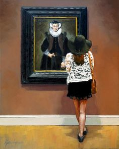 """Karin Jurick """"Under One's Hat"""" 8x10"""