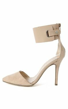 Breckelle Ines-11 Faux Suede Ankle Strap Pointy Toe D'Orsay Single Heel Pumps TAUPE (9) Breckelles,http://www.amazon.com/dp/B00IO6JRMO/ref=cm_sw_r_pi_dp_4gawtb07S5KF73XB