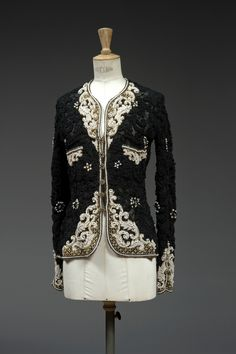 Karl Lagerfeld, Tweed, Couture Embroidery, Vintage Chanel, Jacket Style, Blouse, Blazer, Womens Fashion, How To Wear