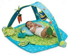 Gimnasio para bebés. Diversión y estímulos por todos lados.  Lee más aquí: http://www.escuelahuggies.com/Bebelogia/Gimnasio-para-bebes.aspx