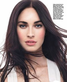 Megan Fox Is a Blushing Beauty For Allure