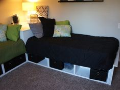DIY Corner Storage Beds :: Hometalk