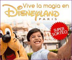 Gana un fantástico viaje a Disneyland Paris con estancia incluida y acceso al parque de atracciones para 2 adultos y 2 niños para 3 días y 2 noches.  Promoción válida para España.  Más información para participar en este sorteo gratuito aquí: http://www.baratuni.es/2013/09/sorteos-gratis-viaje-a-disneyland-paris.html    #sorteos #sorteosgratis #sorteosonline #disneyland #disneylandparis #baratuni