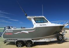 Hmmm, can see myself in this | Vindicator 6.8m Half Cabin |  #Boating #Boats #BoatsforsaleAustralia #NewBoatsforSale #PoweredTrailerBoats