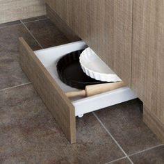 Tiroir sous-plinthe pour meuble l.60 cm, DELINIA | Leroy Merlin