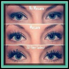 Once again remarkable results from the 3D Fiber Lash Mascara, never ceases to amaze me <3   www.youniqueproducts.com/priscillamosley