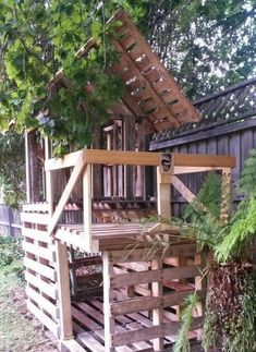 A Little Bit of This, That, and Everything: Pallet Project - Pallet Fort Original article and pictures take https://alittlebitofthist...
