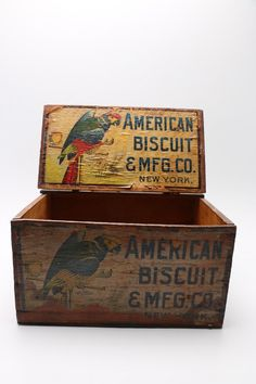 American Biscuit & Mfg Company Shipping Crate...
