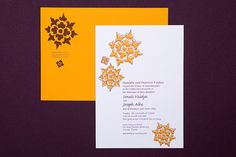 Marigold invitation