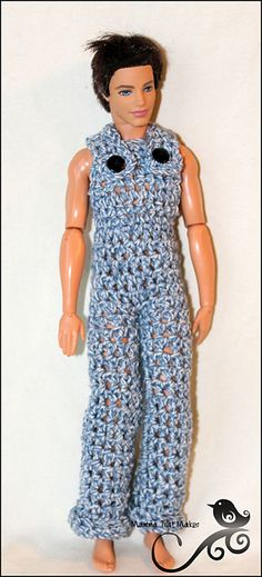 Ravelry: Kens Overalls pattern by Myshelle Cole