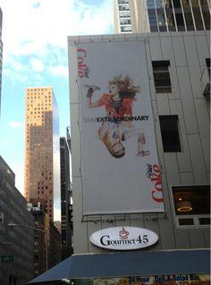 New Diet Coke ad in New York City!