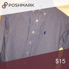 Polo Ralph Lauren Boys Polo Dress Shirt Polo by Ralph Lauren Shirts & Tops Button Down Shirts