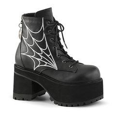 7368d20c3468 Dark Arachne Platform Boots   SinisterSoles.com