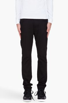 Nudie Jeans Black Tape Ted Jeans for men | SSENSE