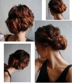 romantic chignon -