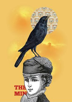 Digital Collage #crow #bird by William Santiago