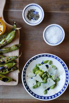 Grilled Fava Beans | HonestlyYUM