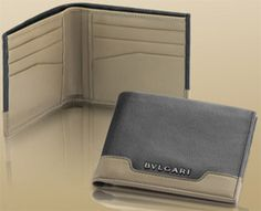 Bvlgari Men's Wallet: US$375.