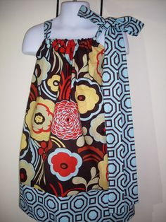 Bright Pillowcase Dress by TaterBlossoms on Etsy, $20.00