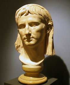 Velate portrait of Augustus in the archaeological museum, Chiusi. Roman History, Art History, Ancient Rome, Ancient History, Emperor Augustus, Roman Republic, Roman Emperor, Roman Art, People Of Interest