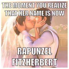 No! Ahahahaha. #Disney #Tangled