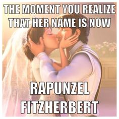 No! Ahahahaha. #Disney #Tangled