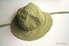 как сшить детскую панаму для мальчика.  How to sew boys hat
