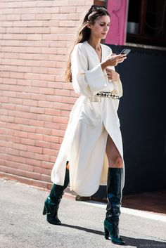 Gorgeous boots #StreetStyle
