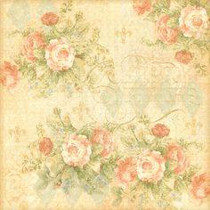 Vintage Floral Background ~ FLORES (pág. 30) | Aprender manualidades es facilisimo.com