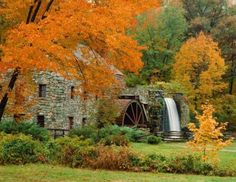 Grist Mill - Longfellow's Wayside Inn, Sudbury, Massachusetts