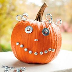 Pumpkin Party Projects  Create your own pumpkin patch with these great ideas for carving, scraping, painting, and adding hardware to any pumpkin. Choose a pumpkin design for Halloween or one to last all fall.