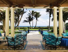 palm beach style loggia