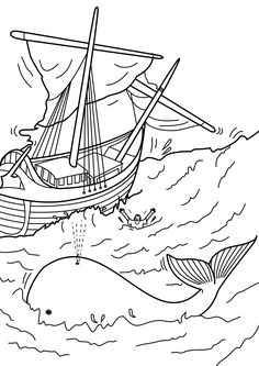 10 best jonah and the whale coloring pages for your little ones - Jonah Whale Coloring Page