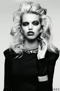 Vogue Russia April 2012 | Daphne Groeneveld | Hedi Slimane
