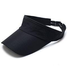 056cdf62574 Adjustable Sun Hats for Women Tennis Cap Topless Men Sport Badminton Cap  Summer Outdoor Golf Caps Fast Dry Polyester Hat 2018