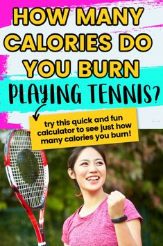 How many calories do you burn playing tennis? Try this fun calculator to see just how many calories you burn playing tennis whether it be doubles or singles. Tennis Games, Tennis Gear, Tennis Tips, Sport Tennis, How To Play Tennis, Fitness Devices, Burn Calories, Calories Burned, Tennis Lessons