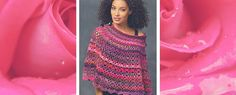 Free Pattern Friday: Crochet Poncho Pattern from Red Heart - Stitch and Unwind