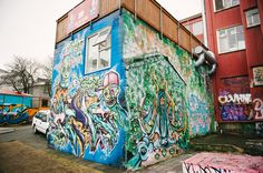 Street art in Reykjavik      Photography: Jessica Bossé Photography