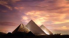 Pyramids, Giza, Egypt,SUNSET - Sunsets Wallpaper ID 1213077 - Desktop Nexus Nature