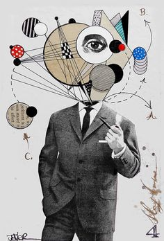 the thinking man by Loui  Jover