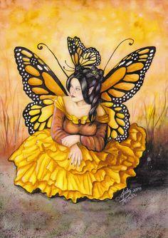 My Fairy-cards :: The Monarch Queen / Linda Peltola image by Kaheli_album - Photobucket