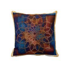 Pattern 21 Mandala Throw Pillow