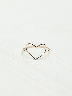 Free People Heart Ring