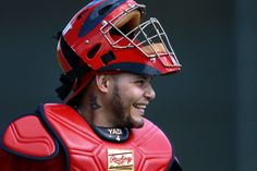 Yadier Molina Photos: St. Louis Cardinals Spring Training Workout Session