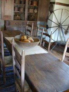 Colonial/Primitive Rooms.
