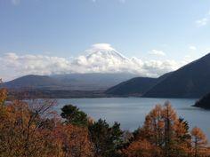 本栖湖からの富士山 千円札