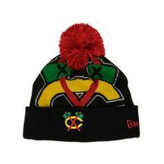 97bda8ae24f Chicago Blackhawks Woven Biggie Knit by New Era