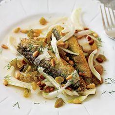 Marinated Sardines with Fennel, Raisins and Pine Nuts | Food & Wine