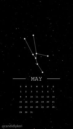 Taurus constellation horoscope may 2016 calendar wallpaper free download for iPhone android or desktop background on the blog!