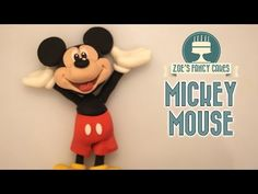 Mickey mouse cake topper tutorial - YouTube